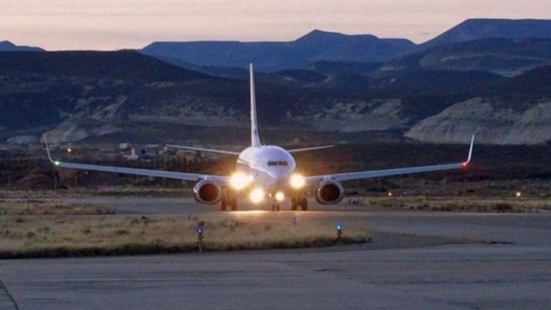 Dos vuelos fueron cancelados  por las condiciones climáticas  y por la falta de equipamiento