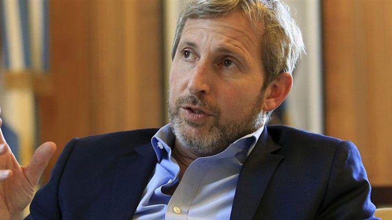 El ministro del Interior reconoció que el cambio es desparejo en Argentina.