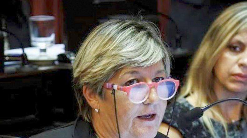 La senadora chubutense Nancy González es una de las impulsoras de la iniciativa.