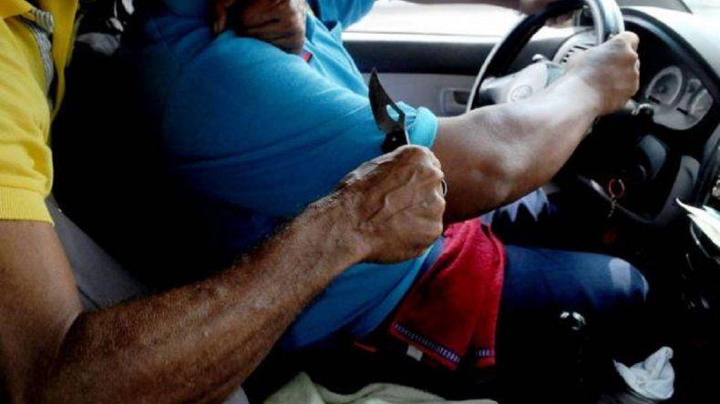 Dos detenidos por el intento de robo a un taxista en el Quiroga