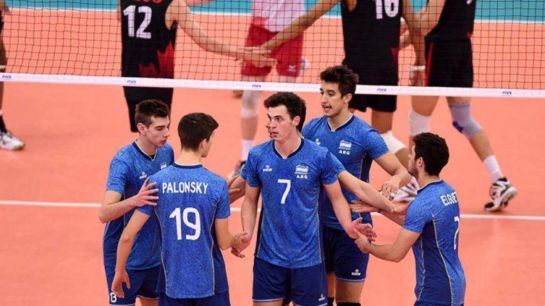 Los chicos de Argentina vencieron a Canadá por 3-2 en su último partido.