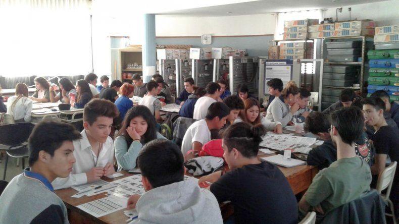 Fundación Banco del Chubut capacita a 650 alumnos en el primer semestre del año