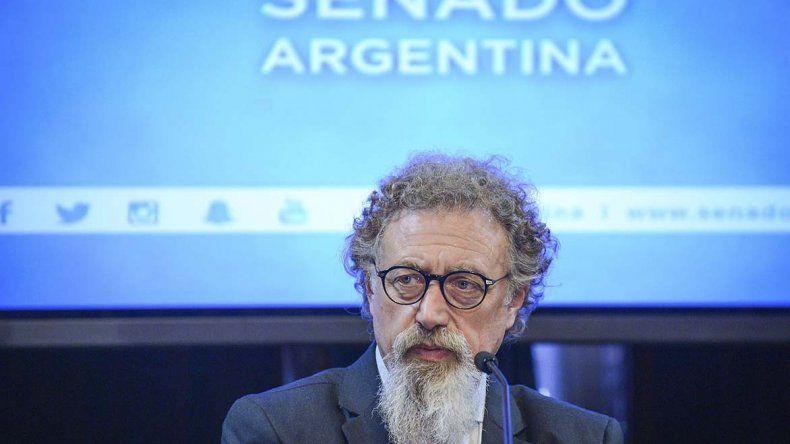 Alfredo Luenzo le planteó su reclamo al jefe de Gabinete