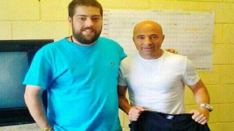 Sampaoli visitó a Pato Fontanet en la cárcel de Ezeiza