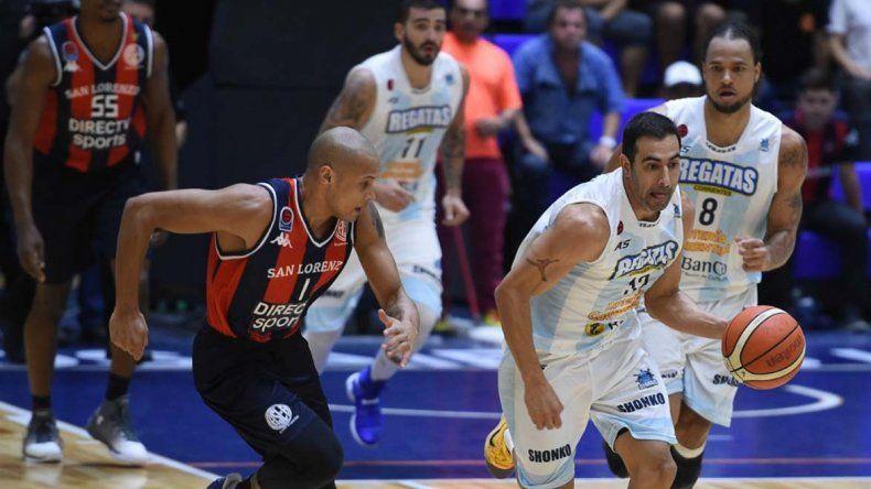 San Lorenzo y Regatas Corrientes abren la serie final al mejor de siete partidos.