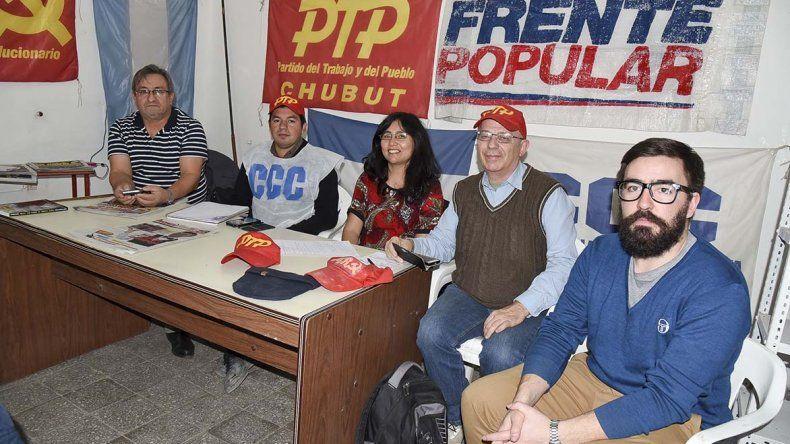 El PTP presentó sus precandidatos