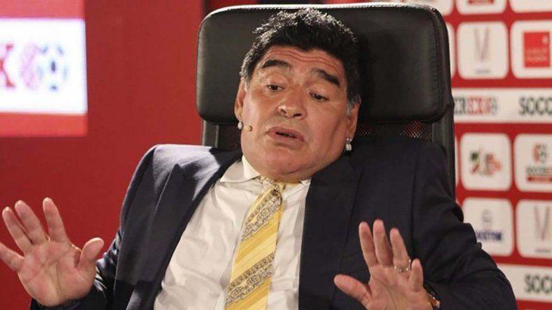 Maradona salió al cruce de las acusaciones en redes sociales