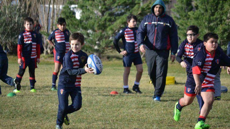 Comodoro Rugby Club impulsa el crecimiento del semillero
