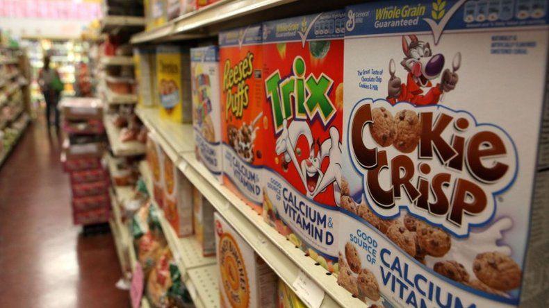 Buscan regular la promoción de productos elevados en azúcar en los supermercados