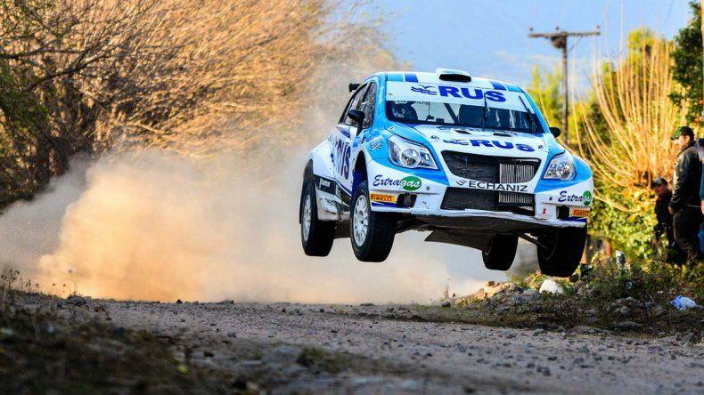 Marcos Ligato lidera el campeonato en la categoría MR del Campeonato Argentino de Rally.
