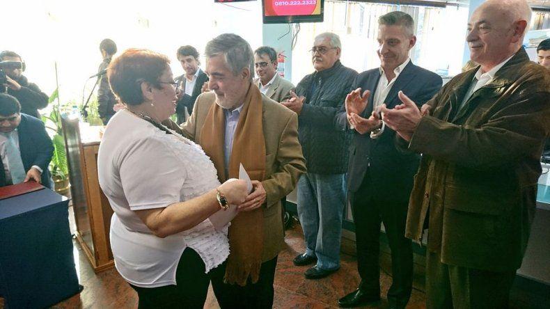 Das Neves designó a Miryám Monasterolo como directora del Hospital Regional