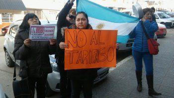 Por tercera vez los vecinos se manifestaron en contra del tarifazo