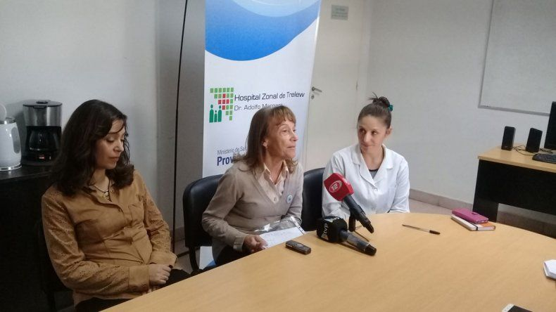 En Trelew ayer dieron a conocer detalles de la Campaña de Lavado de Manos que se impulsó en el Hospital Zonal Dr. Adolfo Margara.