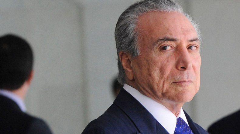 Michel Temer lleva adelante una brutal reforma laboral en Brasil. Sería el espejo de Mauricio Macri.