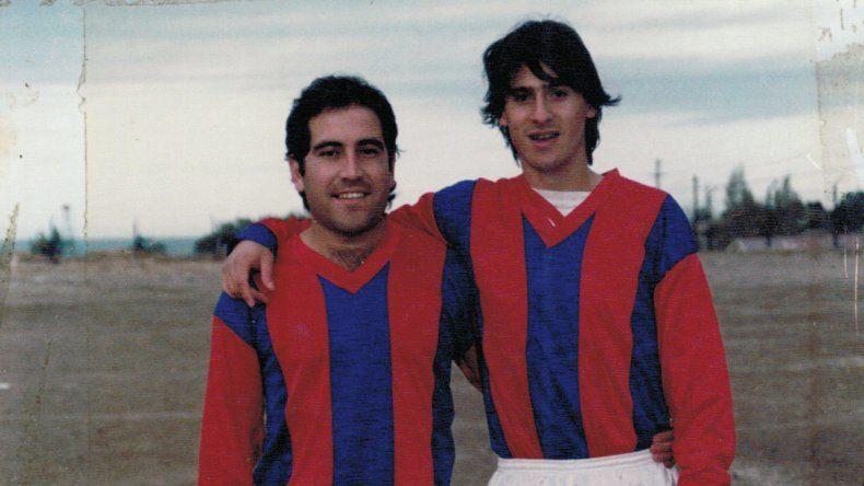 Con Alejo Balverdi en sus inicios en USMA.