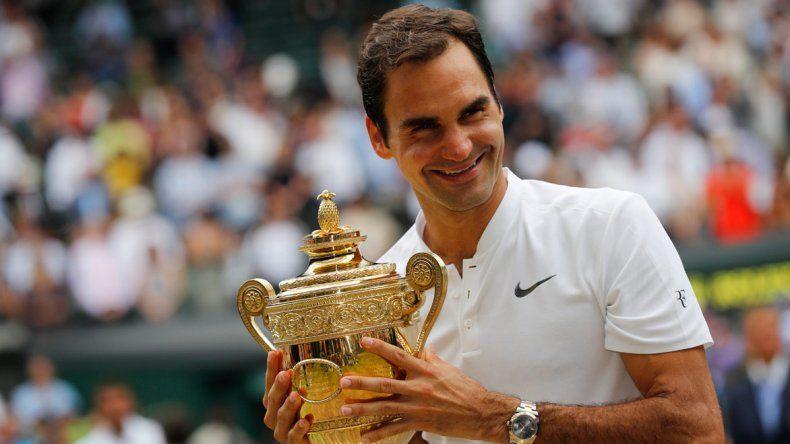 Roger Federer también logró conquistar el título sin perder un set