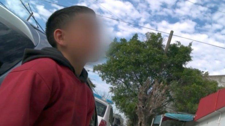 Denuncian que la entrevista con El Polaquito estuvo armada y vulnera los derechos del niño