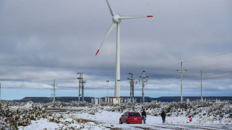 Anuncian nevadas y vientos intensos para Chubut