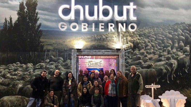Chubut fue galardonada como uno de los mejores stands en la Rural