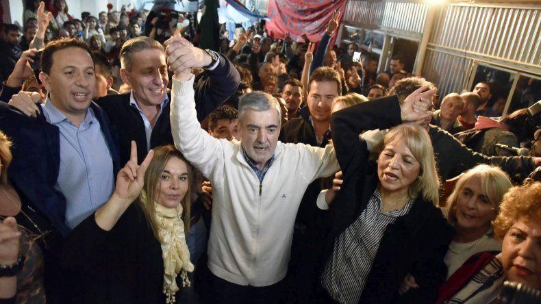 Das Neves lanzó en Trelew la campaña de Arcioni y Muñoz