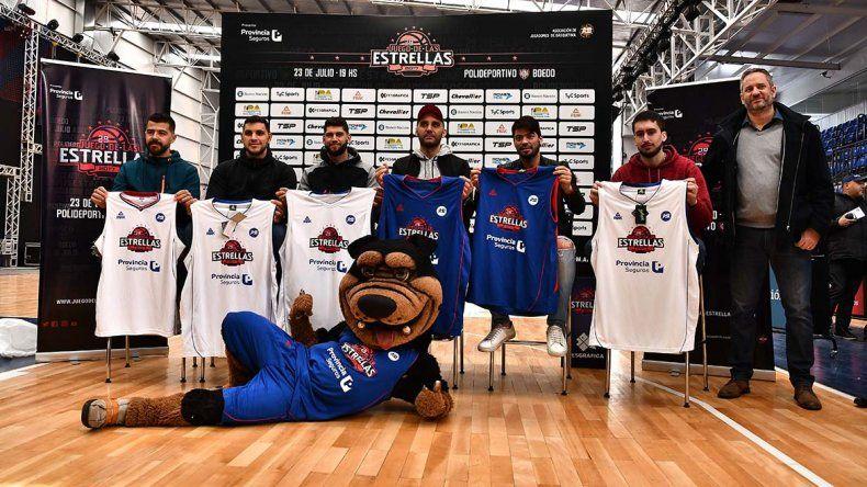 Ayer se realizó la presentación oficial del Juego de las Estrellas que se llevará a cabo hoy en la polideportivo de San Lorenzo.