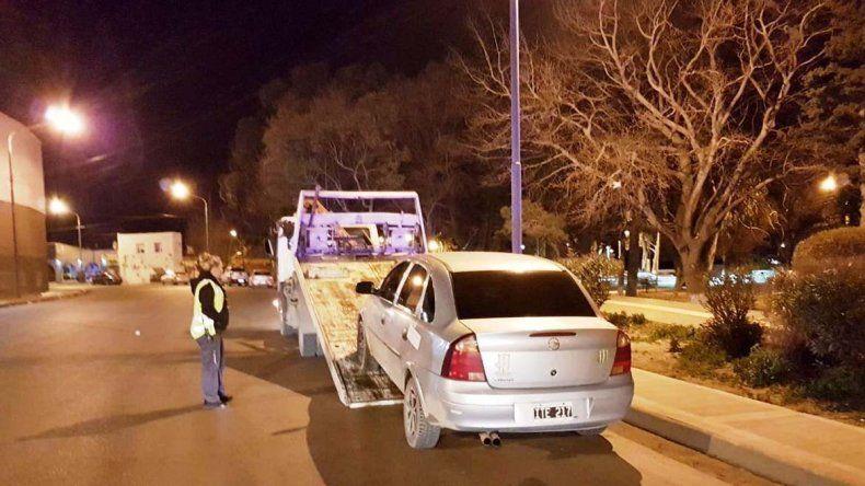 Cuatro vehículos fueron trasladados al corralón municipal porque sus conductores arrojaron resultado positivo en el test de alcoholemia.