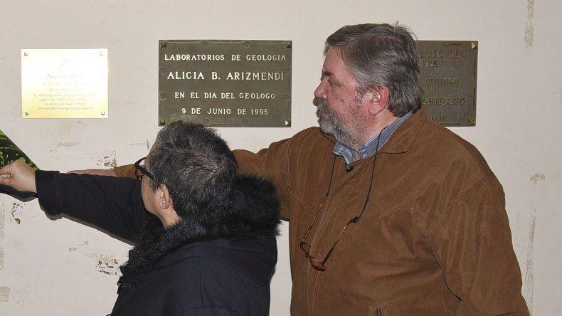 En la Universidad homenajearon con una placa a Alejandro Balle