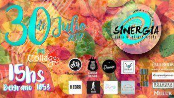 Feria de arte y diseño local este domingo en Collage
