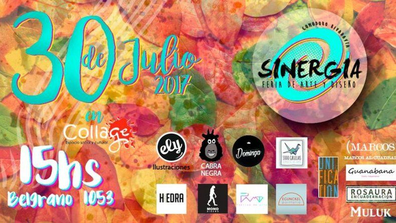 Feria de arte y diseño local este domingo en Collage