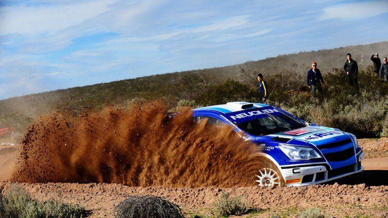 Alejandro Cancio será uno de los participantes que tendrá la sexta fecha del campeonato argentino de Rally que se correrá en Río Negro.