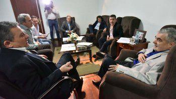 Das Neves evaluó con ministros el avance de la obra pública