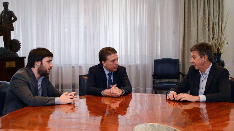 Gustavo Menna sí quiere hablar de economía en su campaña.