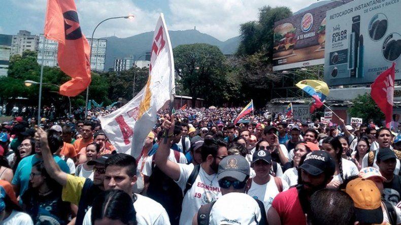 La ONU pide a Venezuela que respete la libertad de manifestarse a sus ciudadanos