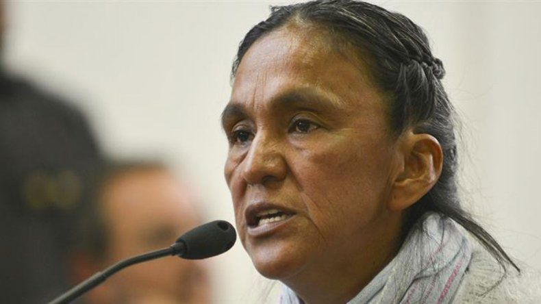 La CIDH recomendó la prisión domiciliaria para la líder de la Tupac Amaru.