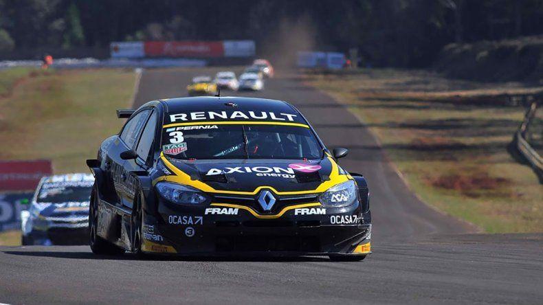 El Renault Fluence de Leonel Pernía que cerró un fin de semana fantástico en el Super TC2000.