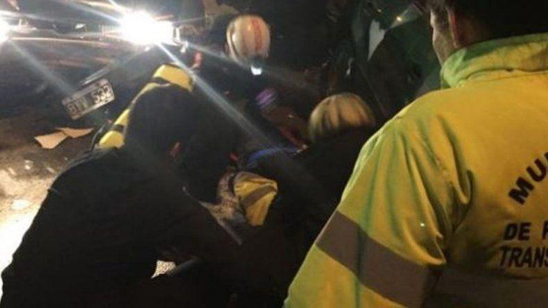Atropellaron a una inspectora de tránsito en un control de rutina