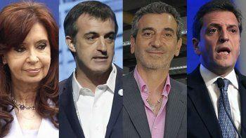 Cristina, Bullrich, Randazzo y Massa, los nombres fuerte de la Provincia de Buenos Aires.