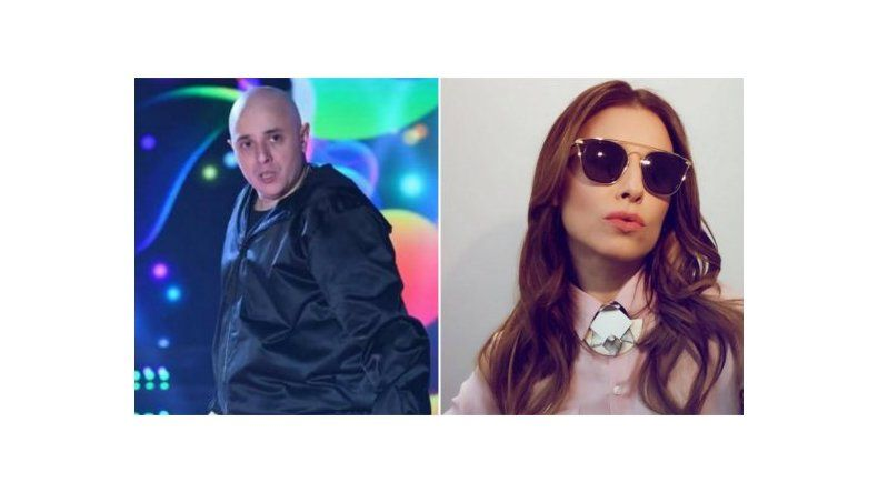 Pelea entre El Dipy y Mariana Brey en ShowMatch