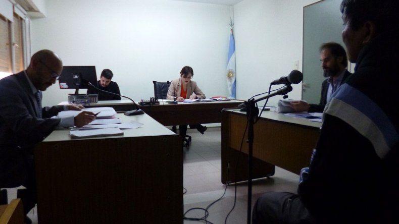 La jueza Daniela Arcuri confirmó en la audiencia de ayer que homologará el acuerdo de juicio abreviado.