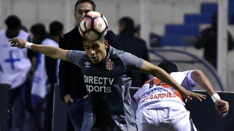 Estudiantes le ganó en la ida 1-0 a Nacional Potosi.