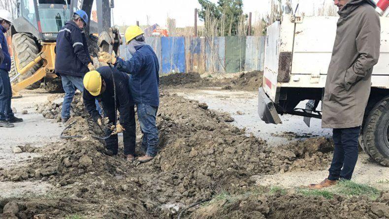 La SPCL anuló ayer tomas clandestinas de agua en Kilómetro 17.