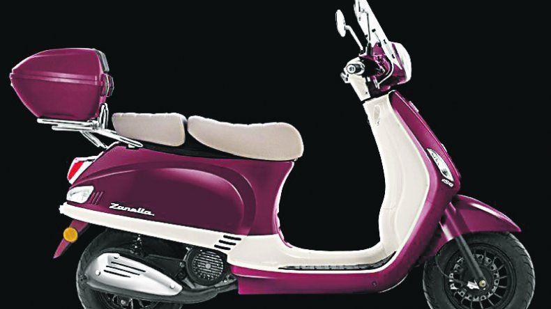 Zanella: Look vintage  y más colores