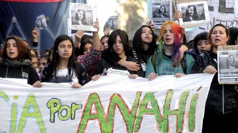 Hubo marchas en Buenos Aires pidiendo Justicia por Anahí