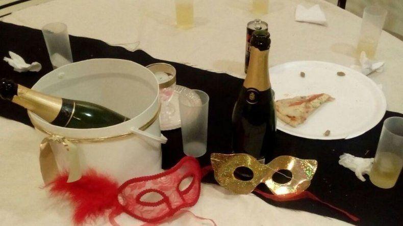 La organizadora de la fiesta erótica negó que se tratara de una orgía