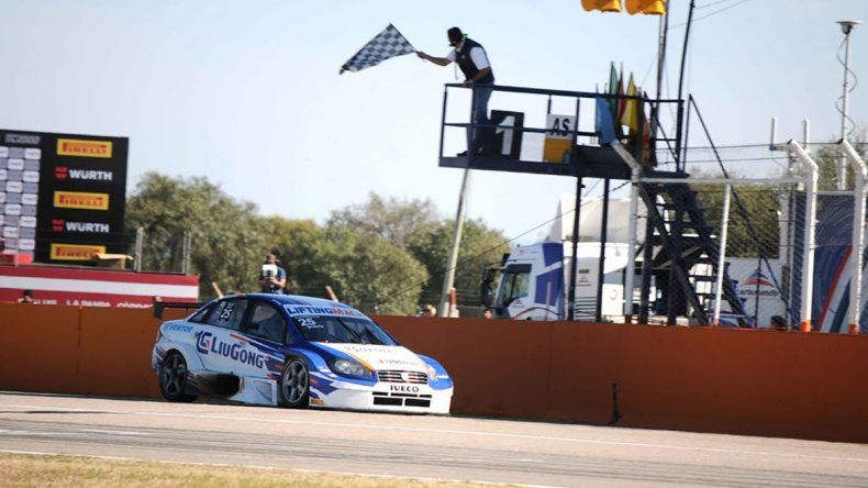 Marcelo Ciarrocchi se quedó ayer con un sólido triunfo en San Luis.