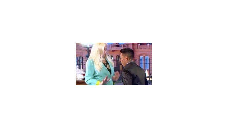 Brian Sarmiento meneó con Susana y le hizo una propuesta indecente