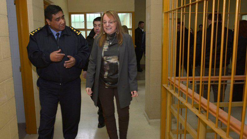 La gobernadora Alicia Kirchner recorrió ayer las instalaciones del ex Centro Juvenil de Río Gallegos