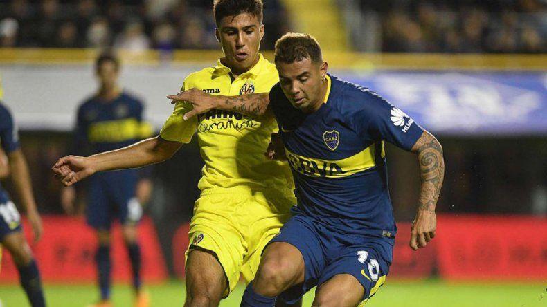El colombiano Edwin Cardona mostró buenos rendimientos en los dos amistosos que Boca jugó hasta el momento.