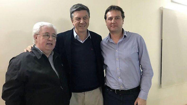 Gustavo Menna recibió el respaldo del intendente actual de Rada Tilly