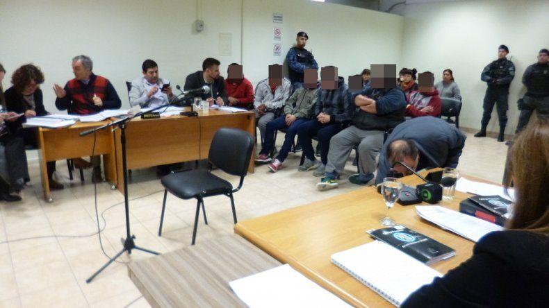 Dictan la preventiva a los 8 imputados por asociación ilícita